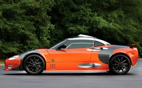 Картинка 2008, design, Spyker, exterior, sports coupe, Spyker C8 Laviolette LM85