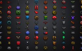 Картинка текстура, логотип, эмблема