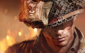 Картинка солдат, Electronic Arts, шутер от первого лица, Battlefield V