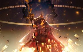 Картинка arknights, skyfire, satonishi