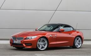 Картинка BMW, родстер, 2013, E89, BMW Z4, Z4, sDrive35is, жёсткая складная крыша
