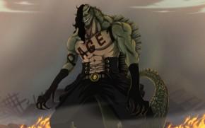 Картинка монстр, ящер, One Piece