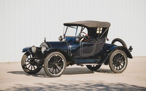 Картинка фото, Roadster, Синий, Ретро, Автомобиль, 1914, Buick, Model B-36