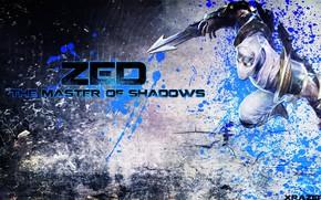 Картинка ниндзя, League of Legends, Лига Легенд, Zed