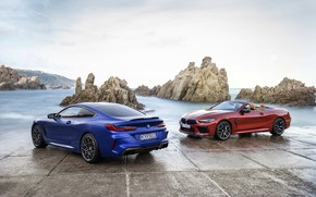 Картинка купе, BMW, кабриолет, 2019, BMW M8, M8, M8 Competition Coupe, F91, M8 Coupe, M8 Competition …