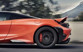 Картинка McLaren, крыло, задняя часть, 2020, 765LT