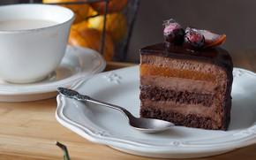 Картинка торт, слои, глазурь