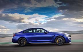 Картинка машина, купе, спортивная, диски, колёса, BMW M4 CS