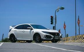 Картинка Honda, Civic, Exhaust, Type-R, Armytrix, Valvetronic