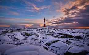 Картинка маяк, Норвегия, Norway, Rogaland