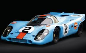 Картинка Porsche, 1969, 24 Hours of Le Mans, 24 часа Ле-Мана, Porsche 917K, Sports prototype, Спортпрототип, …