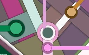 Картинка круги, ассиметрия, фигуры