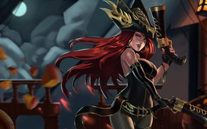Картинка League of Legends, Лига Легенд, Miss Fortune