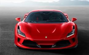 Картинка машина, фары, оптика, Ferrari, спорткар, F8 Tributo