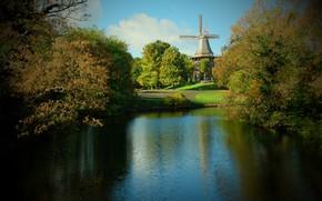 Картинка landscape, land, grin, Bremen City