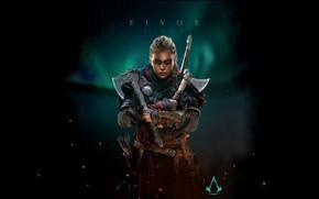 Картинка Воительница, Assassin's Creed, Assassin's Creed Valhalla, Побрили