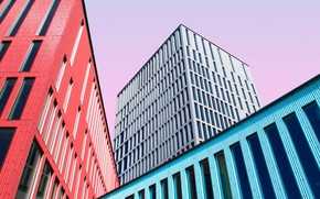 Картинка Color, Wallpaper, Building, Architecture