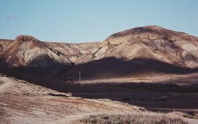 Картинка горы, тень, крым