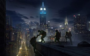 Картинка Черепашки-ниндзя, TMNT, emmanuel shiu, eenage Mutant Ninja Turtles