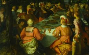 Картинка масло, картина, 1613, Отто ван Веен, Otto van Veen, Заговор Клавдия Цивилиса Предводителя Батавов