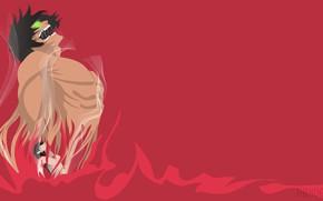 Картинка титан, Shingeki No Kyojin, Эрен Йегер, Атака титанов