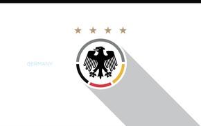 Картинка wallpaper, sport, logo, Germany, football