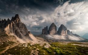 Обои горы, Италия, Доломитовые Альпы