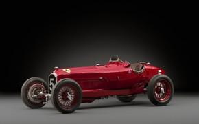 Картинка Спицы, Alfa Romeo, Classic, Scuderia Ferrari, 1932, Grand Prix, Classic car, Sports car, Alfa Romeo …