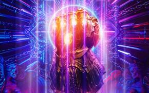 Картинка камни, перчатка, Thanos, Танос, Infinity Gauntlet