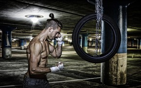 Картинка сила, человек, тренировка