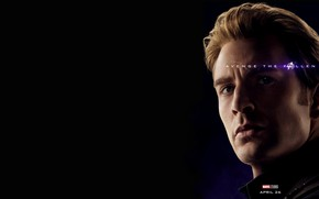 Картинка Стив Роджерс, Капитал Америка, Avengers: Endgame, Мстители Финал, Терпилы Таноса, Первый Мстюн