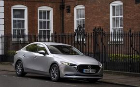 Картинка фото, Mazda, Автомобиль, Sport, Sedan, Mazda3, 2019, Skyactiv-X