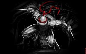 Картинка Ниндзя, Черепашки-ниндзя, Рафаэль, TMNT, Raphael, Teenage Mutant Ninja Turtles, Черепашки, Concept Art, Characters, Раф, Raph, …