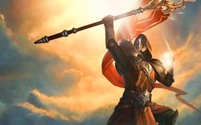Картинка оружие, воин, шлем, Juggernaut Wars