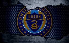 Картинка wallpaper, sport, logo, football, Philadelphia Union