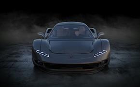Картинка car, concept, supercar, Guerriera H6