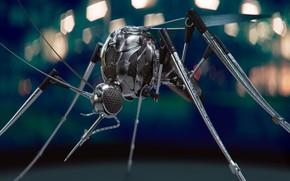 Картинка фантастика, арт, комар, Mosquito Bot, Philipp Müller
