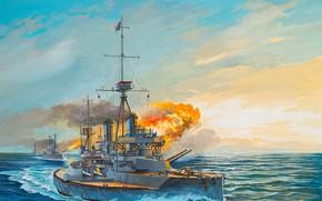 Картинка Великобритания, Линкор, Линейный корабль, Дредноут