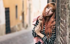 Картинка девушка, модель, боке, Francesca