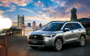 Картинка Toyota, Hybrid, Corolla, Cross, TH-spec, 2020