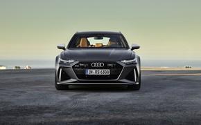 Картинка Audi, вид спереди, Avant, RS6, RS 6, 2019