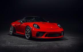 Картинка 911, Porsche, 2018, Speedster, Concept II