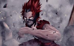 Картинка злость, парень, Моя геройская академия, Boku No Hero Academia