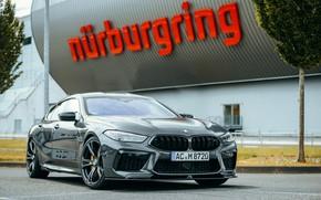 Картинка купе, BMW, стоянка, Gran Coupe, AC Schnitzer, 2020, BMW M8, M8, четырёхдверное, M8 Gran Coupe, …