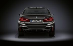 Картинка BMW, седан, вид сзади, BMW M5, M5, F90, 2019, Edition 35 Years