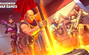 Картинка свет, город, оружие, солдаты, персонажи, Shadowgun War Games
