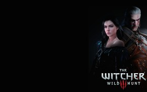 Картинка Йен, Геральт из Ривии, Белый Волк, The Witcher 3 Wild Hunt, Ведьмак 3 Дикая Охота, …