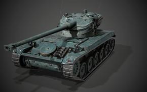 Картинка Франция, Лёгкий танк, AMX 13-90