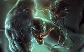 Картинка победа, монстры, Веном, Venom, симбиоты, горова