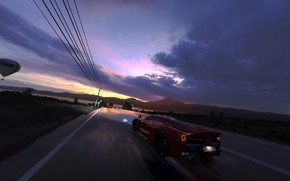 Картинка Ferrari, game, LaFerrari, Forza Horizon 3